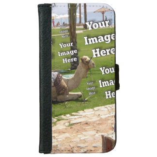 Economical Quick Travel Photo Template Wallet Phone Case For iPhone 6/6s