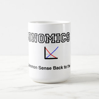 Economics 101 coffee mug
