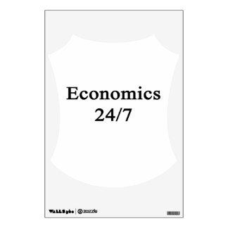 Economics 24/7 wall sticker