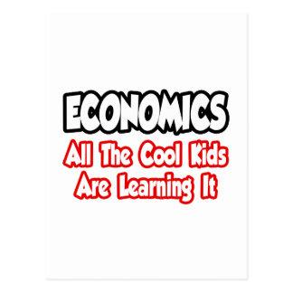 Economics...All The Cool Kids Postcard