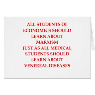 economics card