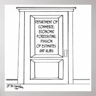 Economics Cartoon 3781 Poster