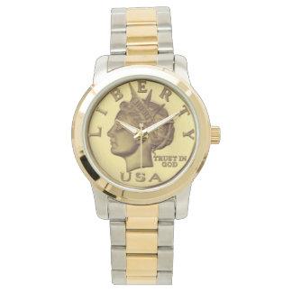 Economics Degree Wristwatch