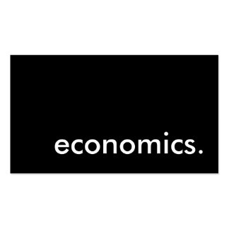 economics. Double-Sided standard business cards (Pack of 100)