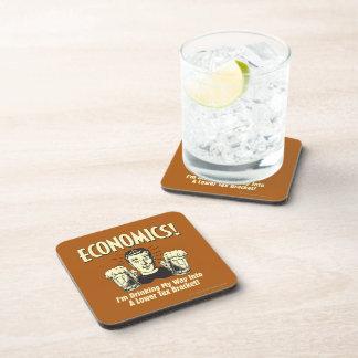 Economics: Drinking Lower Tax Bracket Coaster