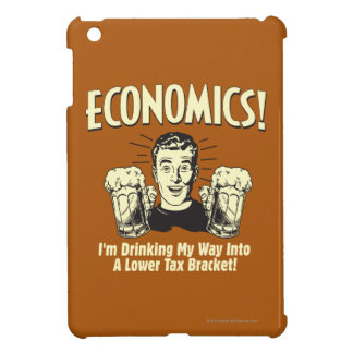 Economics: Drinking Lower Tax Bracket Cover For The iPad Mini