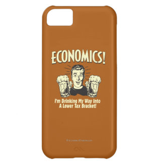 Economics: Drinking Lower Tax Bracket iPhone 5C Case