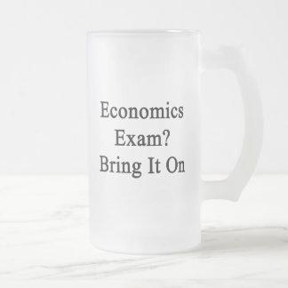 Economics Exam Bring It On Coffee Mug