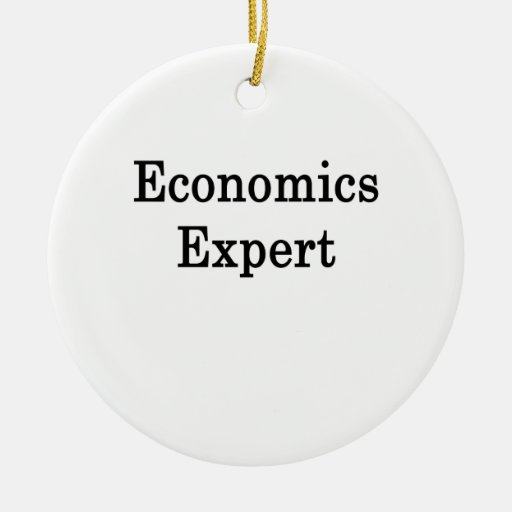 Economics Expert Christmas Tree Ornament