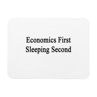 Economics First Sleeping Second Flexible Magnet