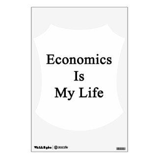 Economics Is My Life Wall Graphics
