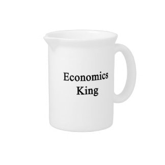 Economics King Beverage Pitcher