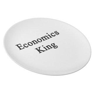 Economics King Melamine Plate