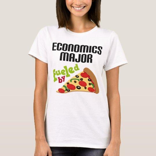 Economics Major Gift (Pizza) T-Shirt