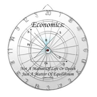 Economics Not Matter Of Life Or Death Equilibrium Dart Board