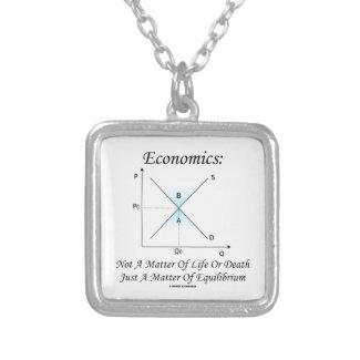 Economics Not Matter Of Life Or Death Equilibrium Necklaces