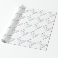 Economics Not Matter Of Life Or Death Equilibrium Wrapping Paper