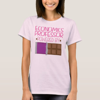 Economics Professor chocolate Gift for Her T-Shirt