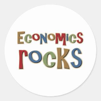Economics Rocks Classic Round Sticker