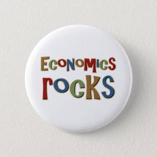Economics Rocks Pinback Button