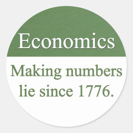 Economics Stickers