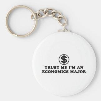 Economics Student Keychain