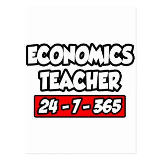 Economics Teacher 24-7-365 Postcard