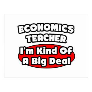 Economics Teacher...Big Deal Postcard