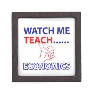 ECONOMICS teacher design Gift Box