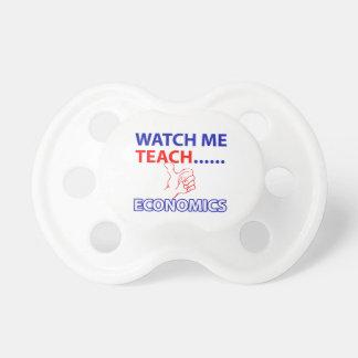 ECONOMICS teacher design Pacifier