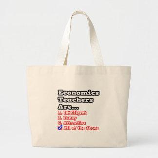 Economics Teacher Quiz...Joke Canvas Bags