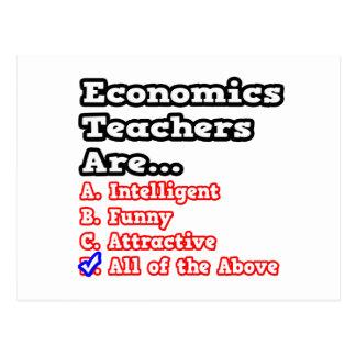 Economics Teacher Quiz...Joke Postcard