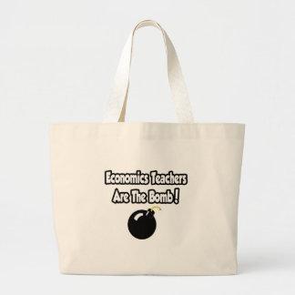 Economics Teachers Are The Bomb! Tote Bags