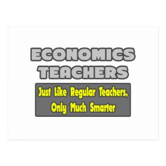 Economics Teachers..Smarter Postcard