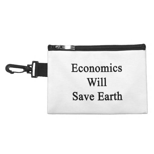 Economics Will Save Earth Accessory Bags