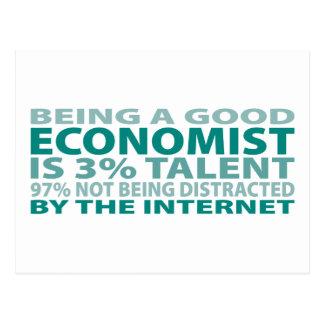 Economist 3% Talent Postcard