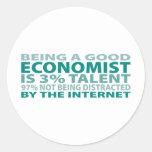 Economist 3% Talent Round Sticker