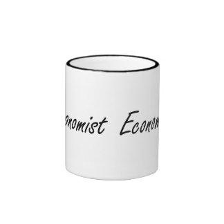 Economist Artistic Job Design Ringer Coffee Mug