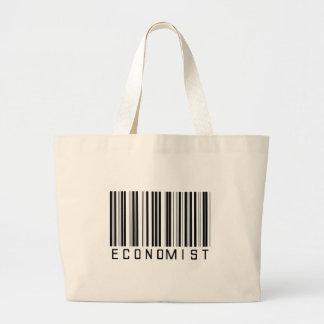Economist Bar Code Large Tote Bag