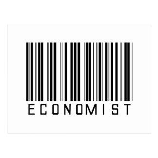 Economist Bar Code Postcard