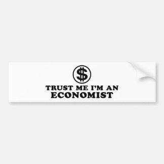 Economist Bumper Sticker