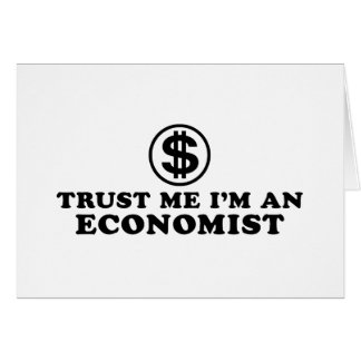Economist Greeting Card