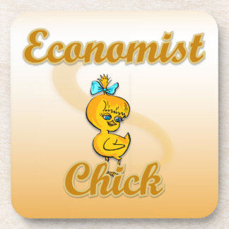 Economist Chick Beverage Coaster