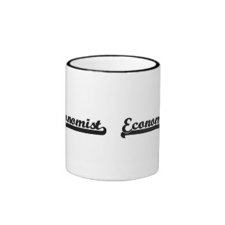 Economist Classic Job Design Ringer Coffee Mug
