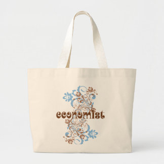 Economist Cute Gift Large Tote Bag