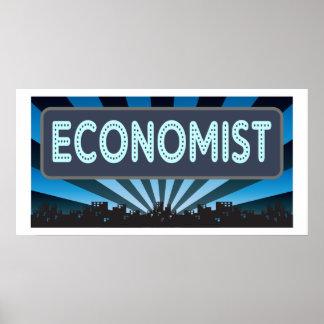 Economist Marquee Poster