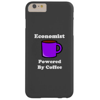 """""""Economist"""" Powered by Coffee Barely There iPhone 6 Plus Case"""