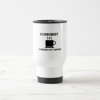 """Economist"" Powered by Coffee Travel Mug"