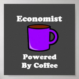 """""""Economista"""" accionado por el café Póster"""