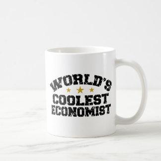 Economista divertido taza de café